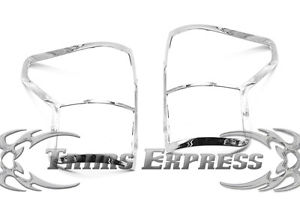US ライトガード プロテクター 2007-2009トヨタトンドラテールライトテールライトクロムガードカバー 2007-2009 Toyota Tundra Tail Light Taillights Chrome Guards Covers