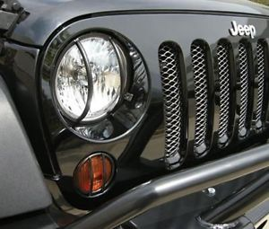 US ライトガード プロテクター 暴走85660フロントユーロライトガード6-Pcキット2007 +ジープラングラーJK Rampage 85660 Front Euro Light Guard 6-Pc Kit for 2007 + Jeep Wrangler JK