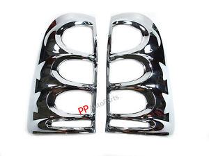 US ライトガード プロテクター リアテールライトガードクロムカバートリムトヨタHILUX VIGO SR5 MK6 05-11ピックアップ REAR TAIL LIGHT GUARDS CHROME COVERS TRIM TOYOTA HILUX VIGO SR5 MK6 05-11 PICKUP