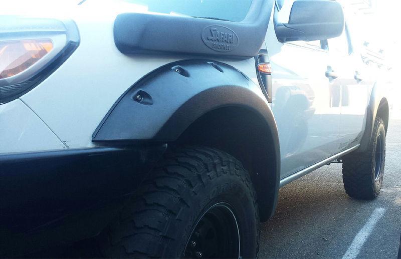 USワイドフェンダー Kut Snake Flares for Mazda BT50 2007-2011 ABSフロントのみ Kut Snake Flares For Mazda BT50 2007-2011 ABS Fronts Only