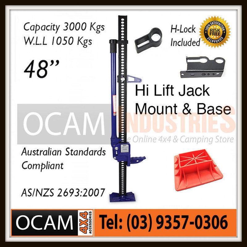 USワイドフェンダー ハイリフトジャックファームヘビーデューティーブルー48インチマウント& ベース4x4 4WD High Lift Jack Farm Heavy Duty Blue 48 inch Mount & Base 4x4 4WD