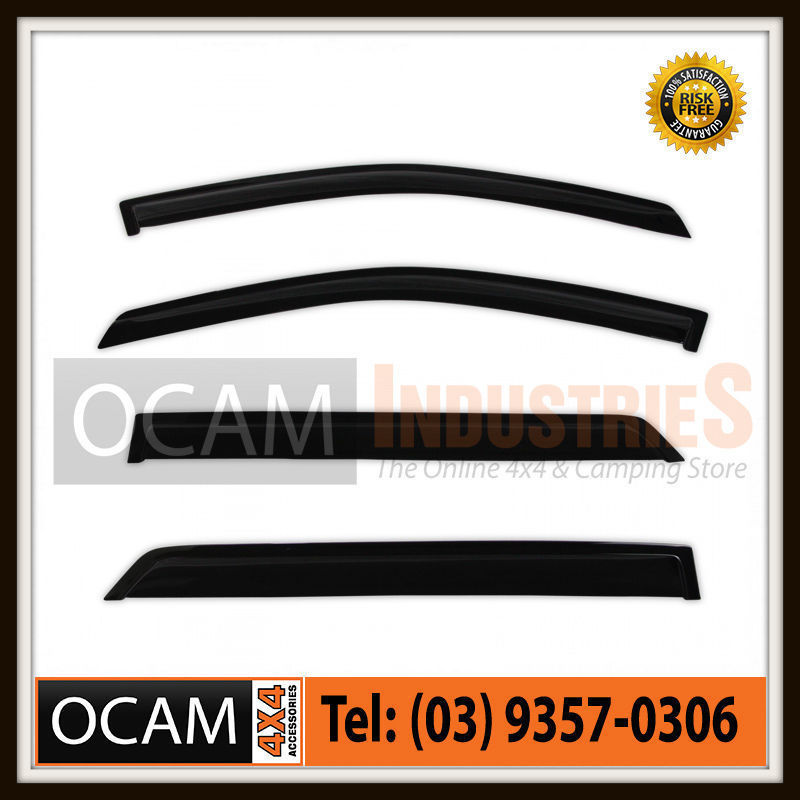 USワイドフェンダー OCAM Weathershields For Ford Ranger PX 2011-2015ウィンドウドアバイザー OCAM Weathershields For Ford Ranger PX 2011-2015 Window Door Visors