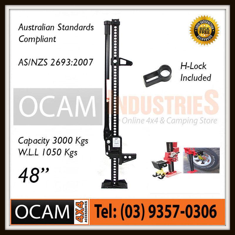 USワイドフェンダー OCAMハイリフトジャックファーム48インチブラック& ジャックメイトホイールリフター OCAM High Lift Jack Farm 48 inch Black & Jack Mate Wheel Lifter