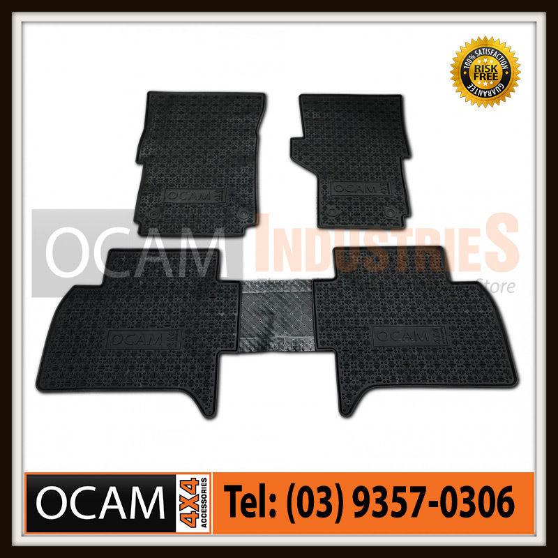 USワイドフェンダー フォルクスワーゲンアマロク2011-2016のためのカスタマイズされたゴムの床のマットCar Mats Dual Cab Tailored Rubber Floor Mats for Volkswagon Amarok 2011-2016 Car Mats Dual Cab