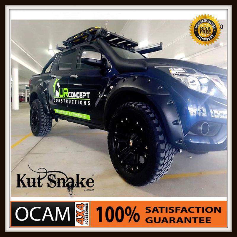 USワイドフェンダー クッツスネークABSフレアマツダBT50フルセット4X4 4WD 2011-2015 Kut Snake ABS Flares For Mazda BT50 Full Set 4X4 4WD 2011-2015