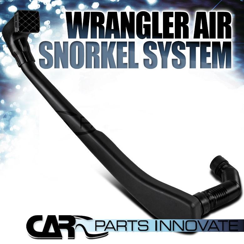 USエア インテーク シュノーケル 1992-1999ジープラングラー4.0L L6ガソリンABSエアーラムインテークシュノーケルシステム 1992-1999 Jeep Wrangler 4.0L L6 Petrol ABS Air Ram Intake Snorkel System
