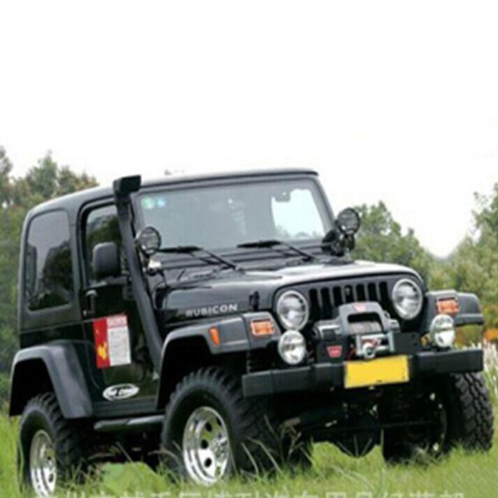 USエア インテーク シュノーケル EFエアラムインテークシステムスノーケルキット1999-2006ジープラングラーTJ YJオフロード EF Air Ram Intake System Snorkel Kit For 1999-2006 Jeep Wrangler TJ YJ Off Road