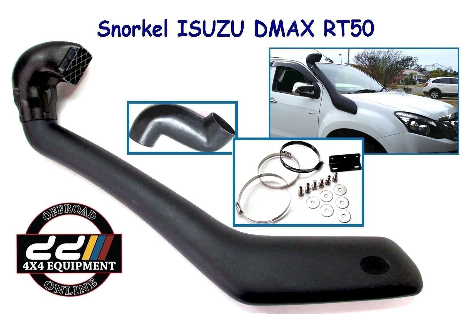 USエア インテーク シュノーケル いすゞD-Max用スノーケルエアインテークキットDMax RT50 2012オンデマンドディーゼルSS175H Snorkel Air Intake Kit For Isuzu D-Max DMax RT50 2012 Onward Diesel SS175H