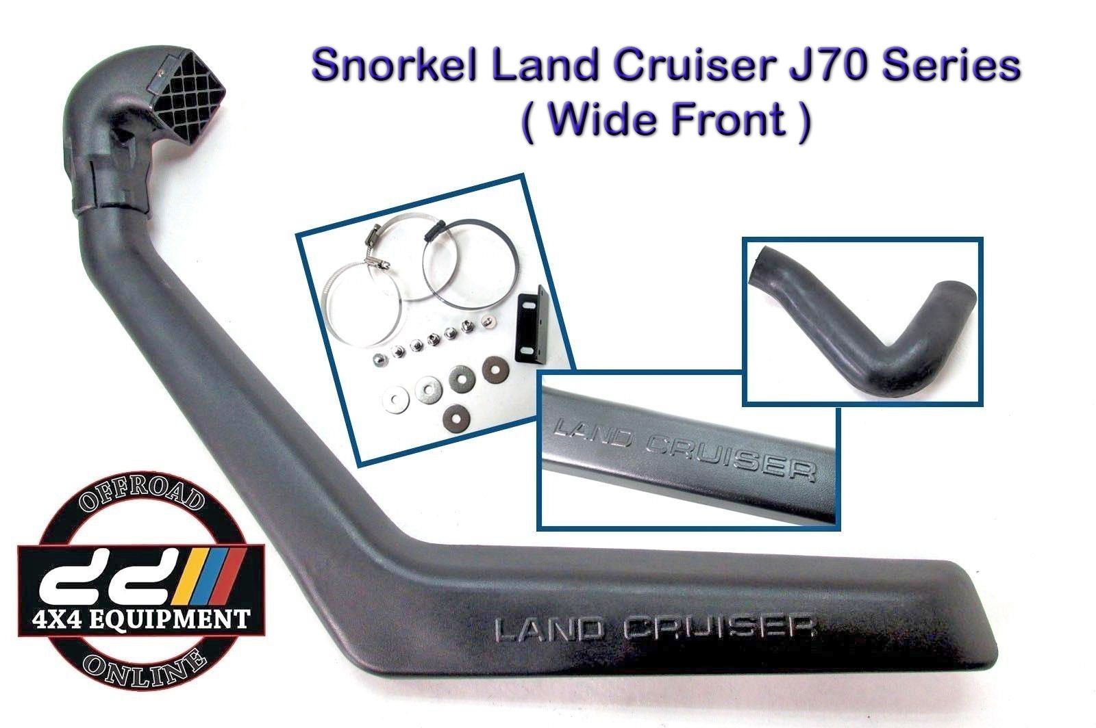 USエア インテーク シュノーケル スノーケルエアインテークキットはトヨタランドクルーザーHZJ76 HZJ78 VDJ76 VDJ78 ST076Aに適合 Snorkel Air Intake Kit Fits Toyota Land Cruiser HZJ76 HZJ78 VDJ76 VDJ78 ST076A