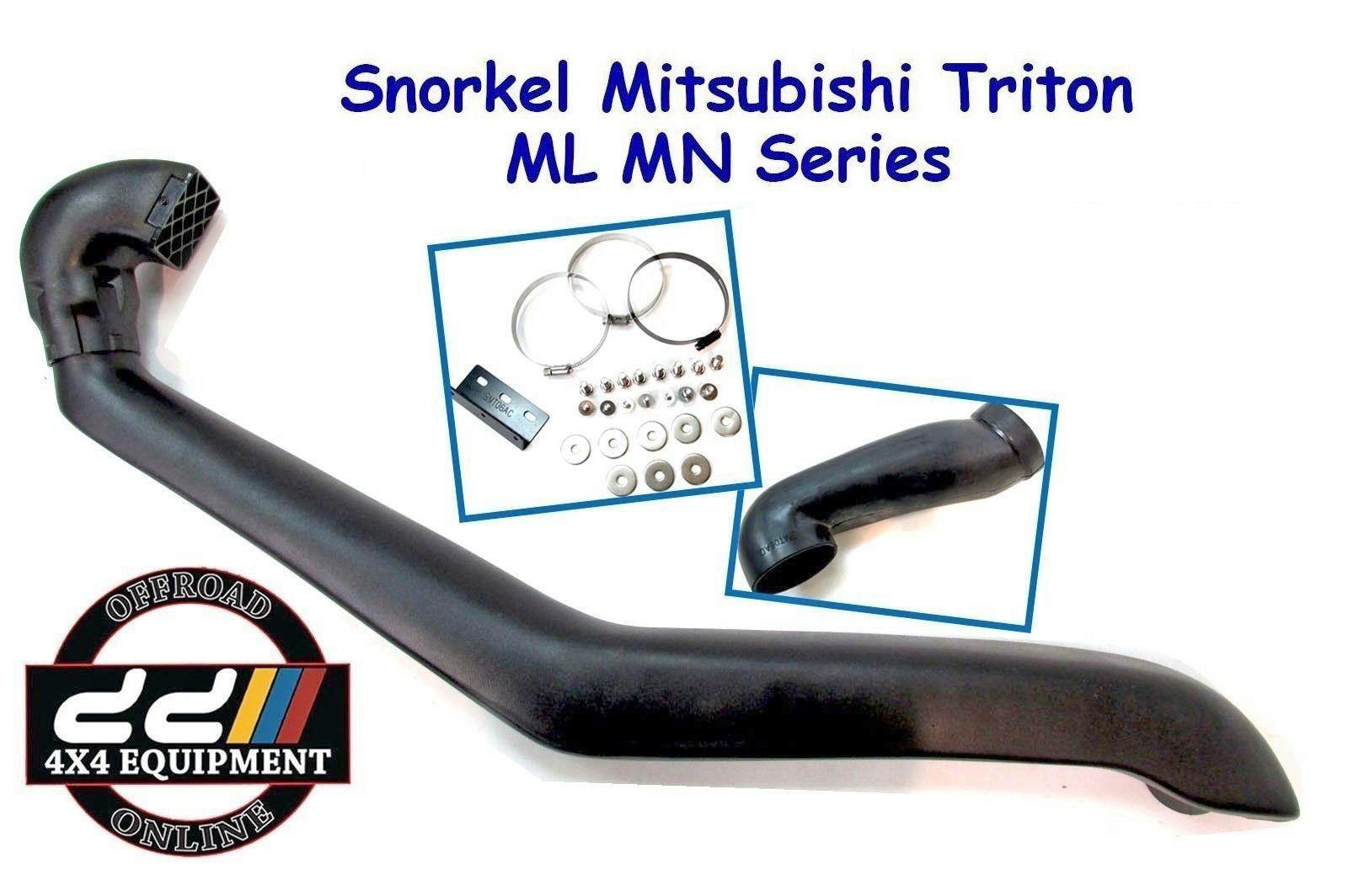 USエア インテーク シュノーケル 三菱トリトンL200 ML MN 05-14ディーゼルSMT06Aに適合するエアインテークシュノーケルキット Air Intake Snorkel Kit Fits Mitsubishi Triton L200 ML MN 05-14 Diesel SMT06A