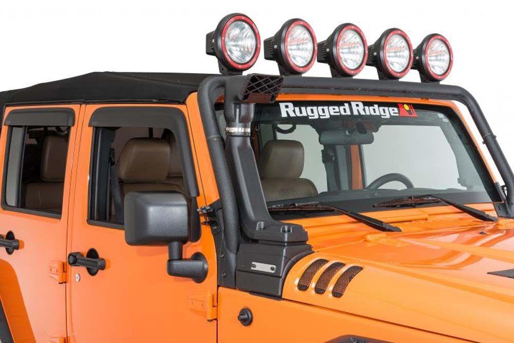 USエア インテーク シュノーケル ジープラングラーJK XHDモジュラーシュノーケルエアインテークキット07-17 Rugged Ridge 17756.21 Jeep Wrangler JK XHD Modular Snorkel Air Intake Kit 07-17 Rugged Ridge 17756.21