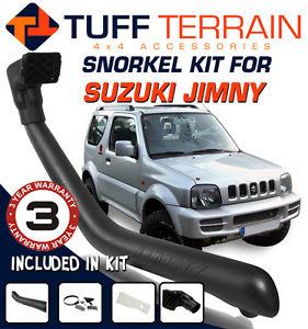 USエア インテーク シュノーケル シュノーケル・キットスズキ・ジム1997-2010モデル1.3Lガソリン・エアインテーク4x4 4WD Snorkel Kit To Suit Suzuki Jimny 1997-2010 Model 1.3L Petrol Air Intake 4x4 4WD