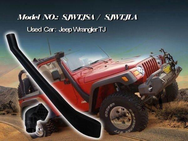 USエア インテーク シュノーケル ジムラングラーのためのエアーラムインテークシステムスノーケルキットTJ YJ 4x4 1999-2006オフロード Air Ram Intake System Snorkel Kit For Jeep Wrangler TJ YJ 4x4 1999-2006 off road