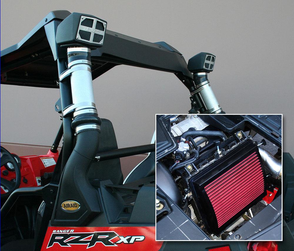 USエア インテーク シュノーケル AIRAID 883-300 Polaris Ranger用エアインテークW /スノーケルXP4 900 / Ranger RZR XP900 AIRAID 883-300 Air Intake W/ Snorkel For Polaris Ranger XP4 900/Ranger RZR XP900