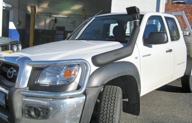 USエア インテーク シュノーケル 気流シュノーケルフォードレンジャーPJ 2.5L& NEW HIGH INTAKE AIR RAMを搭載した3.0Lディーゼル Airflow Snorkel Ford Ranger PJ 2.5L & 3.0L Diesel with NEW HIGH INTAKE AIR RAM
