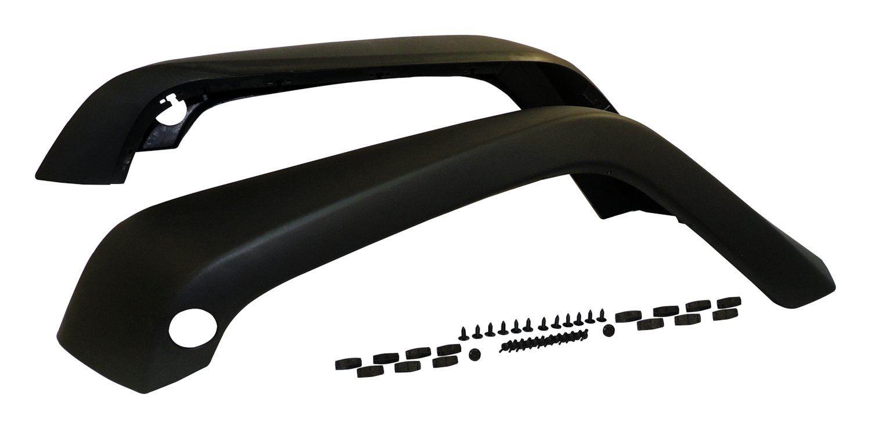 <title>☆送料無料☆USパーツ 海外メーカー輸入品 USワイドフェンダー クラウンオートマチック5KFKFRフェンダーフレアセットは07-17ラングラー JK Crown Automotive 5KFKFR 信用 Fender Flare Set Fits 07-17 Wrangler</title>