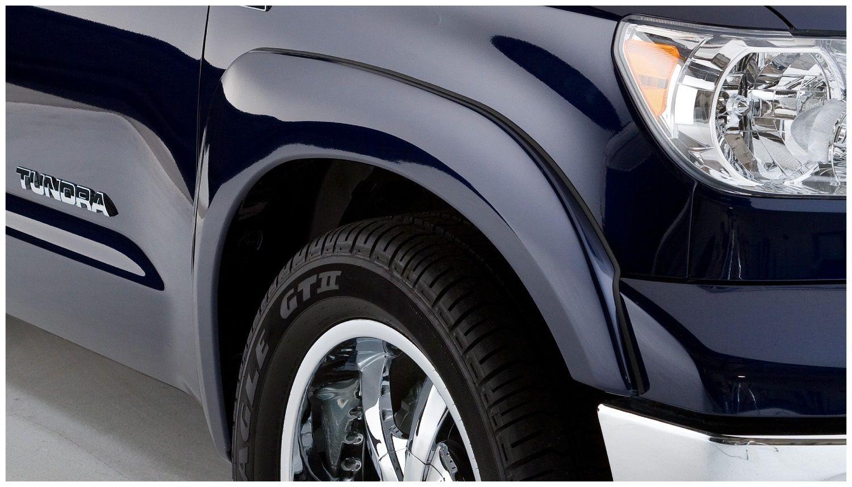 USワイドフェンダー ブッシュワッカー30019-02 OEスタイルフェンダーフレアは07-13トンドラに適合 Bushwacker 30019-02 OE Style Fender Flares Fits 07-13 Tundra