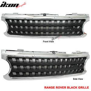 USグリル ランドレンジ06-09レンジローバースポーツ4DrフロントフードグリルグリルブラックABS Land Range 06-09 Range Rover Sport 4Dr Front Hood Grille Grill Black ABS