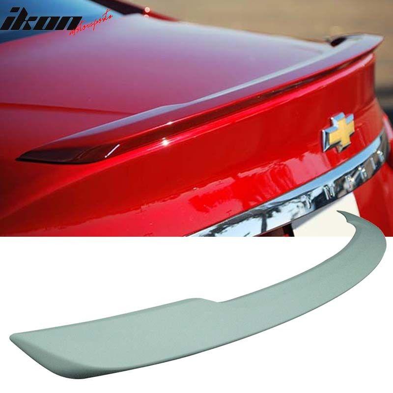 USスポイラー 14-17シボレーインパラOE工場のスタイルリアフラッシュマウントトランクスポイラー - ABS 14-17 Chevy Impala OE Factory Style Rear Flush Mount Trunk Spoiler - ABS