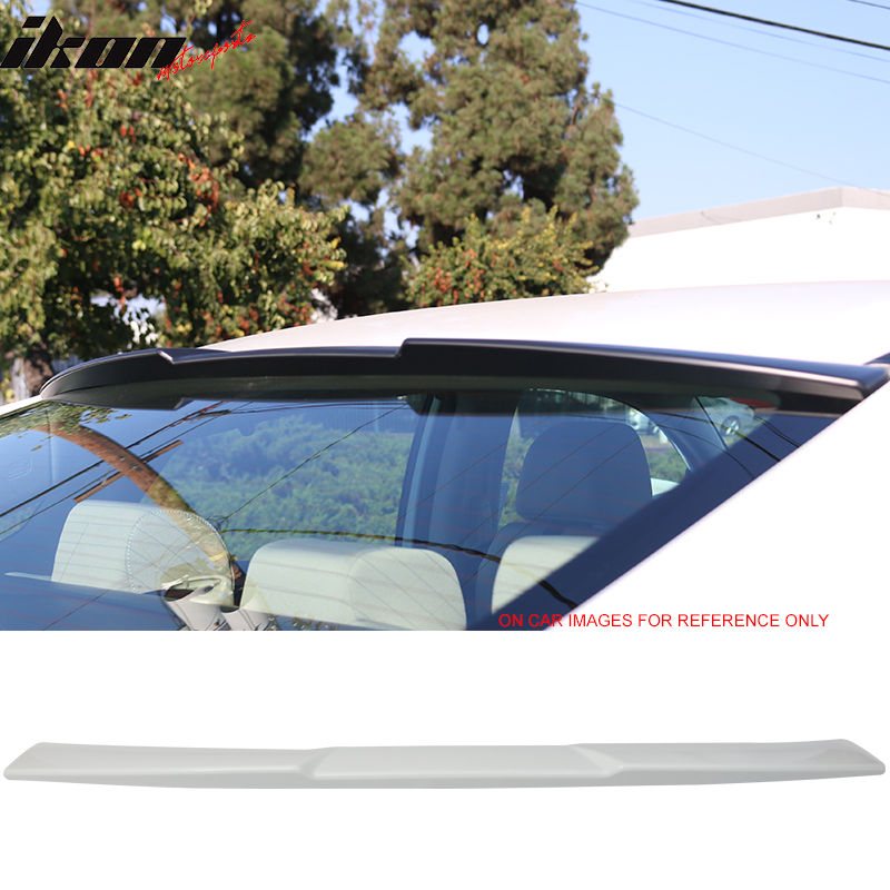 USスポイラー 16-17ホンダシビック4Dr IKONスタイルルーフスポイラー塗装#NH788Pホワイトオーキッドパール 16-17 Honda Civic 4Dr IKON Style Roof Spoiler Painted #NH788P White Orchid Pearl