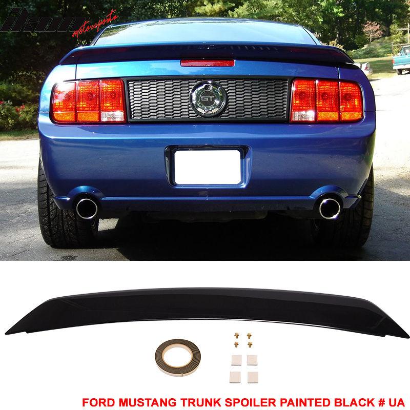 再入荷 予約販売 ☆送料無料☆USパーツ 海外メーカー輸入品 USスポイラー 05-09 Ford Mustang OEトランク スポイラー ペイント ブラック#UA - 業界No.1 Trunk For Fit UA # Black ABS Spoiler Painted OE