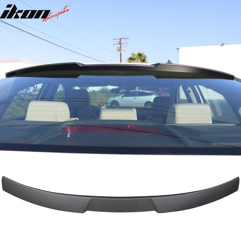 USスポイラー 16-17ホンダシビックIKONスタイルルーフスポイラー塗装済み#NH797Mモダンスチールメタリック 16-17 Honda Civic IKON Style Roof Spoiler Painted#NH797M Modern Steel Metallic