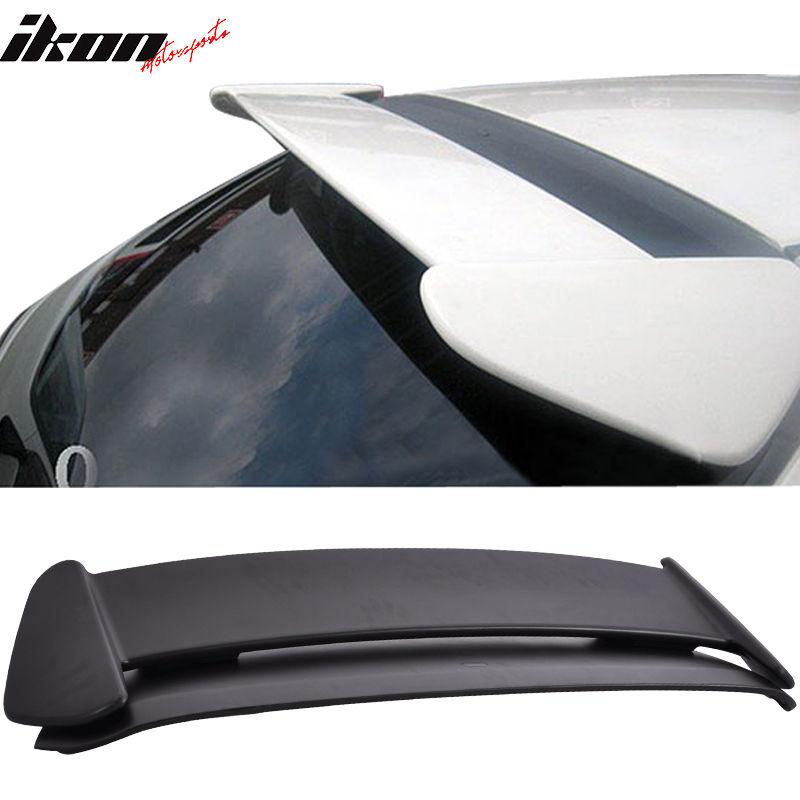 USスポイラー 販売! 96-00ホンダシビック3Dr TRスタイルABSルーフスポイラーブラック2PC SALE! 96-00 Honda Civic 3Dr TR Style ABS Roof Spoiler Black 2PC