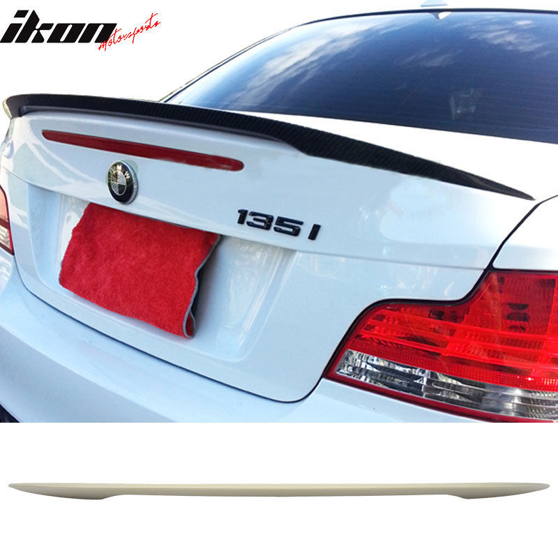 USスポイラー 07-11 BMW 1シリーズE82クーペパフォーマンスリアトランクスポイラーウィングABS 07-11 BMW 1-Series E82 Coupe Performance Rear Trunk Spoiler Wing ABS