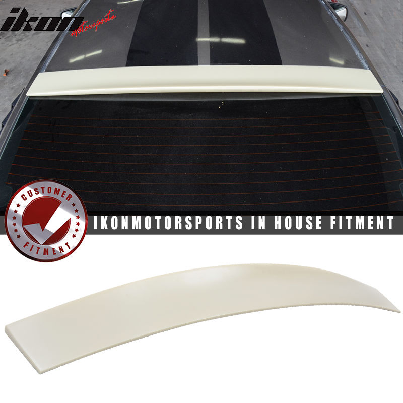 USスポイラー 05-14フォードマスタング2DrクーペABSリアルーフスポイラーウイング無塗装 05-14 Ford Mustang 2Dr Coupe ABS Rear Roof Spoiler Wing Unpainted