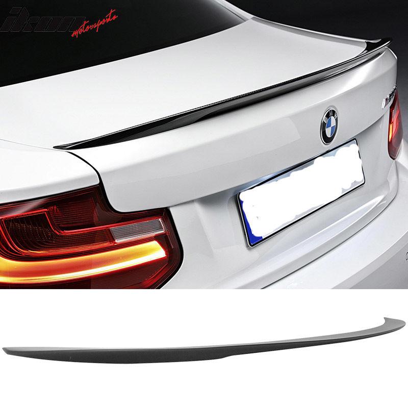 送料無料激安祭 ☆送料無料☆USパーツ 海外メーカー輸入品 USスポイラー 14-17 BMW 2シリーズF22クーペ2Drパフォーマンススタイルトランクスポイラー - マットブラック 2-Series お値打ち価格で Coupe Matte 2Dr Performance Trunk Style F22 Black Spoiler