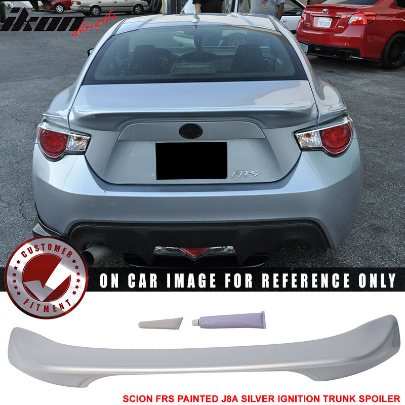 USスポイラー フィット13 Scion FRS塗装#J8AシルバーイグニッションTR-DトランクスポイラーABS Fits 13 Scion FRS Painted #J8A Silver Ignition TR-D Trunk Spoiler ABS