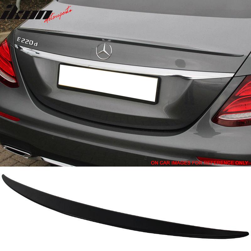 USスポイラー 17-18ベンツEクラスW213セダンOEトランク・スポイラー・ペイント#197黒曜石 17-18 Benz E Class W213 Sedan OE Trunk Spoiler Painted #197 Obsidian Black