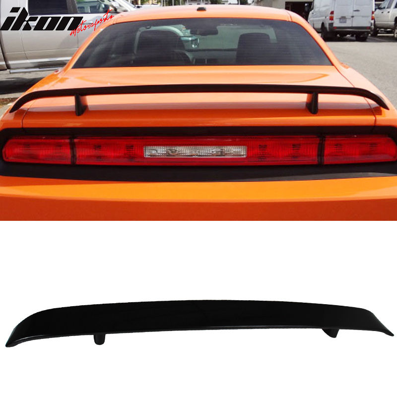 Stainless Steel//Brushed Outer Tail Light Trim Ring for 09-14 Dodge Challenger