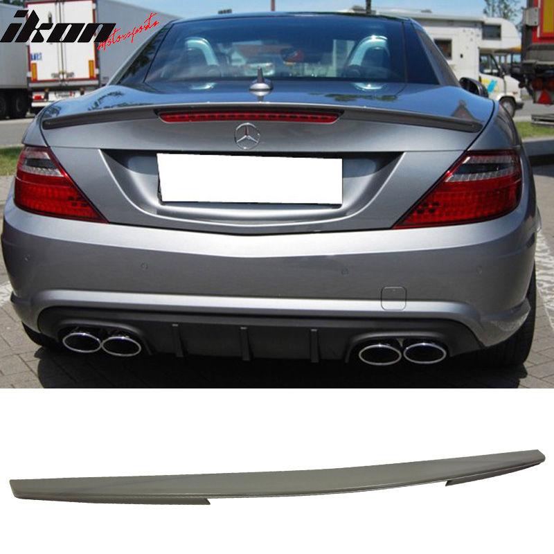 USスポイラー 11-15ベンツSLK R172 2Dr AMGスタイル無塗装トランク・スポイラー・ウィング - ABS 11-15 Benz SLK R172 2Dr AMG Style Unpainted Trunk Spoiler Wing - ABS