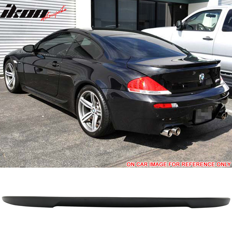 USスポイラー 04-08 BMW E63 6シリーズ2DRクーペVスタイルトランク・スポイラー未塗装 - ABS 04-08 BMW E63 6 Series 2DR Coupe V Style Trunk Spoiler Unpainted - ABS