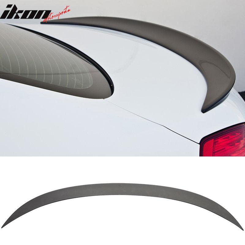USスポイラー 12-17 BMW F13グランクーペM6 Mタイプトランクスポイラーウイング - マットブラックABS 12-17 BMW F13 Gran Coupe M6 M Type Trunk Spoiler Wing - Matte Black ABS