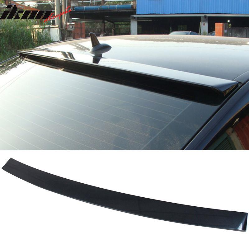 USスポイラー 10-16ベンツEクラスW212セダンOEルーフスポイラー塗装#755スチールグレーメタリック 10-16 Benz E-Class W212 Sedan OE Roof Spoiler Painted #755 Steel Gray Metallic