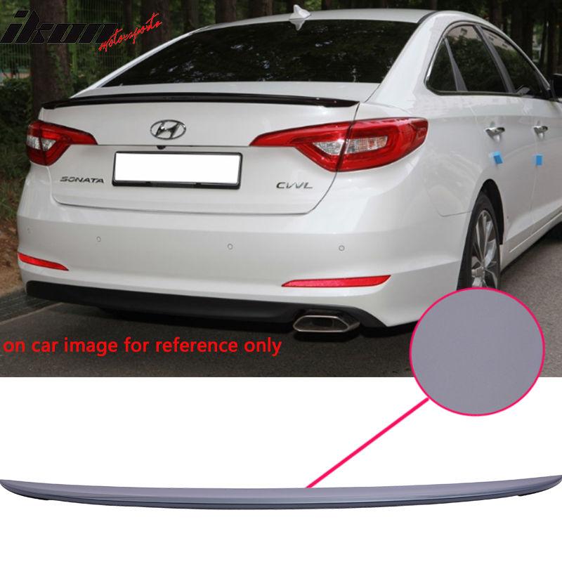 USスポイラー 現代ソナタOEファクトリー塗装済みLEDルーフスポイラーABS(#XU8) Fit For 15-17 Hyundai Sonata OE Factory Style Painted LED Roof Spoiler ABS(#XU8)