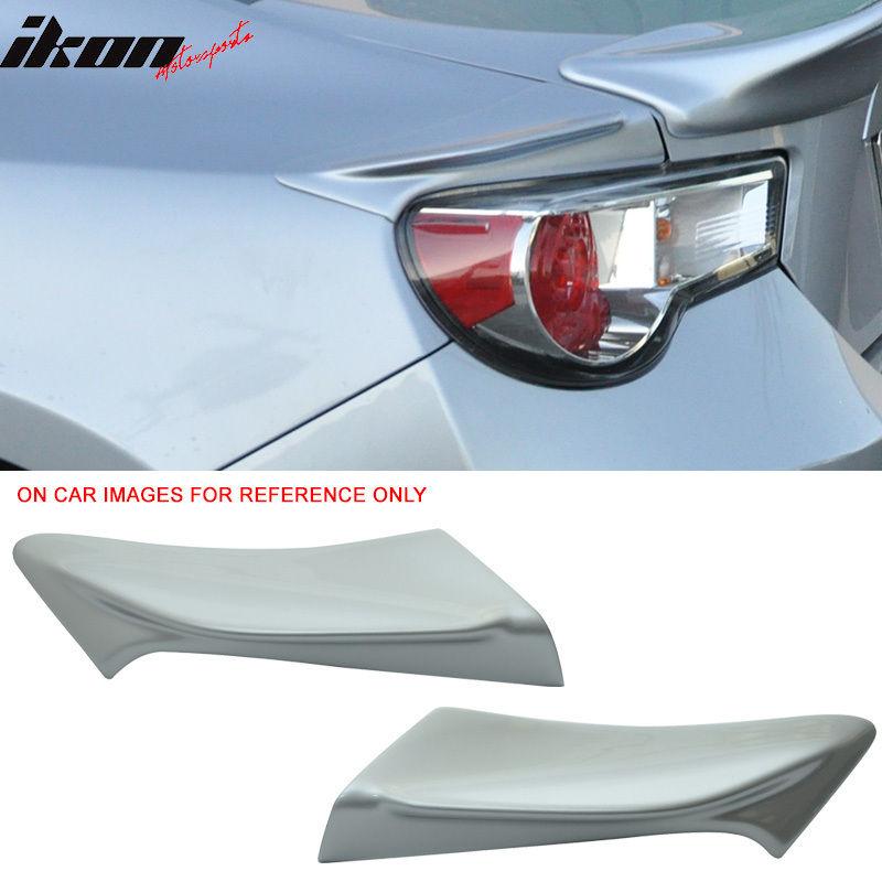 USスポイラー フィットFRS GT86 FT86 TR-D塗装#G1Uアイスシルバーメタリックサイドスポイラー - ABS Fit FRS GT86 FT86 TR-D Painted # G1U Ice Silver Metallic Side Spoiler - ABS