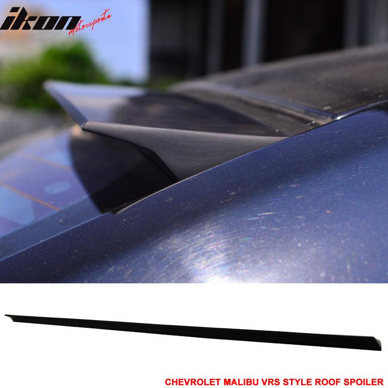USスポイラー 04-07シボレーマリブ第6回VRSスタイルルーフスポイラー無塗装黒 - PUF 04-07 Chevrolet Malibu 6th VRS Style Roof Spoiler Unpainted Black - PUF