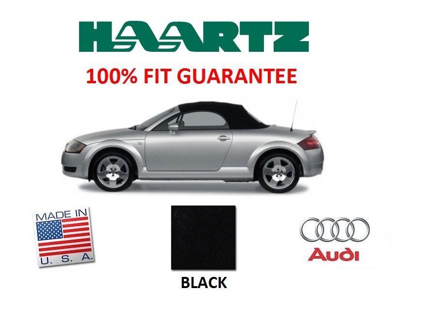 幌 アウディTT 2000-2005コンバーチブルソフトトップガラスウィンドウブラックツイルファーストII RPC Audi TT 2000-2005 Convertible Soft Top With Glass Window Black Twillfast II RPC