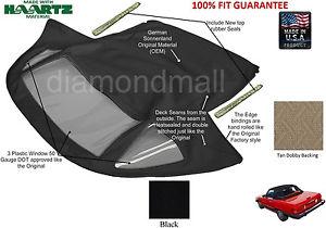幌 メルセデスR107 280SL 560SL 380SL 450SLコンバーチブルソフトトップ1972-89ブラックGERMAN Mercedes R107 280SL 560SL 380SL 450SL Convertible Soft top 1972-89 Black GERMAN