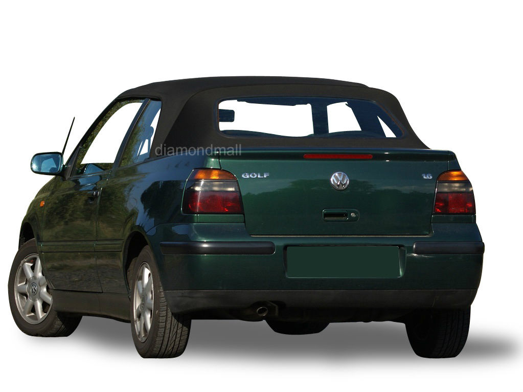 幌 VWフォルクスワーゲンゴルフCabrio Cabriolet 1995-2001コンバーチブルソフトトップブラックビニール VW Volkswagen Golf Cabrio Cabriolet 1995-2001 Convertible Soft Top Black Vinyl