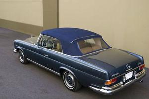幌 メルセデスW111ブルードイツソーレンランドコンバーチブルトップ280SE 250SE 220SE 61-71 Mercedes W111 Blue German Sonnenland Convertible Top 280SE 250SE 220SE 61-71