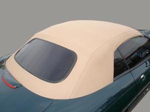 幌 ジャガーXK8コンバーチブルトップフードタンStayfast 1997-2006 XK 8ソフトトップ Jaguar XK8 Convertible Top Hood Tan Stayfast 1997-2006 XK 8 Soft Top