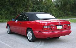 幌 メルセデスw124 E320 300CEブラックOEMドイツのコンバーチブルトップ1992-1995 Mercedes w124 E320 300CE Black OEM German Convertible Top 1992-1995