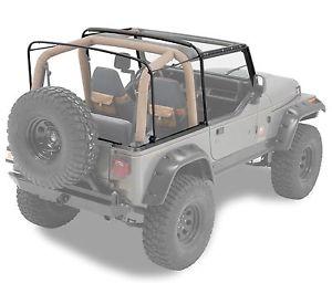 幌 1988-1995 Jeep Wranglerソフトトップハードウェア&フレームキット 1988-1995 Jeep Wrangler Soft Top Complete Hardware and Frame Kit