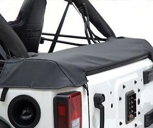 幌 2007-2015ジープラングラー2ドアソフトトップブーツカバーブラック 2007-2015 Jeep Wrangler 2 Door Soft Top Boot Cover Black