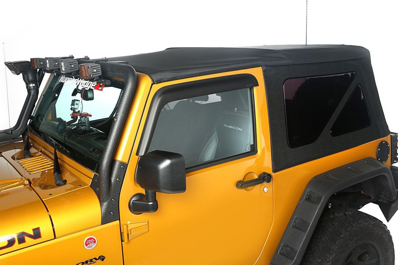 幌 2007年 - 2009年ジープラングラー2ドア交換ソフトトップ、ティンテッドリアウィンドウ付き 2007-2009 Jeep Wrangler 2 Door Replacement Soft Top with Tinted Rear Windows