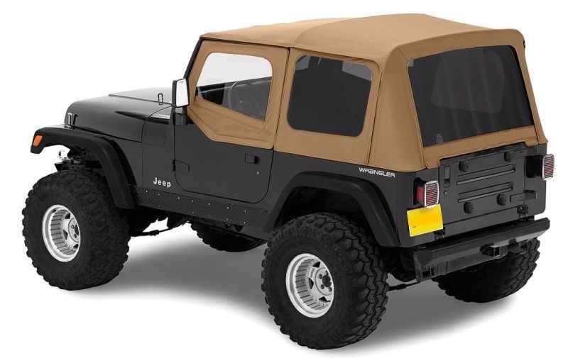 幌 1988-1995 JEEP WRANGLER SPICEソフトトップ+アッパースキン& TINTED REAR WINDOWS NEW 1988-1995 JEEP WRANGLER SPICE SOFT TOP + UPPER SKINS & TINTED REAR WINDOWS NEW